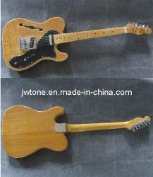 Placage frêne corps Tele guitare électrique de qualité supérieure