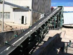 Förderband in der Schwerindustrie für Bergbau, Kohle, Energie