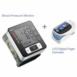 バッテリ内蔵の医療機器血圧モニタ