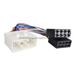 La stereotipia radiofonica di mercato degli accessori installa l'adattatore di spina dell'OEM del cavo del cablaggio di collegamenti del collegare del precipitare