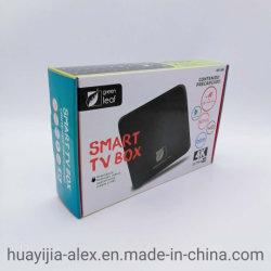 Electronic Embalaje Caja de cartón ondulado de blancos personalizado el plegado de papel caja
