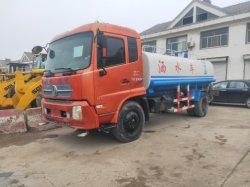 Verwendeter 10tons Dongfeng Tianjin Wasser-Tanker-LKW in der ausgezeichneten Arbeitsbedingung mit angemessenem Preis, Gebrauchtstraßen-Sprenger ist auf Verkauf