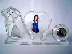 水晶オフィスは水晶画像及びクロック(JD-BJ-003)によってセットした