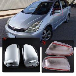 L'orlo dello specchio di portello del bicromato di potassio dell'ABS degli accessori della raccolta di Ycsunz per Toyota 2003-2007 desidera