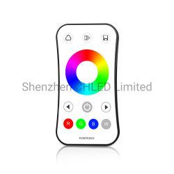 وحدة تحكم LED بإضاءة LED LED باللون الأحمر والأخضر والأزرق (RGB) بجهد 12 فولت/24 فولت مع شريط ضوء LED باللون الكريسماس