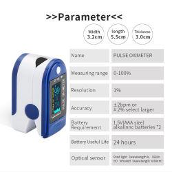 펄스 산소 농도체 포함되는 건전지를 가진 휴대용 산소 센서