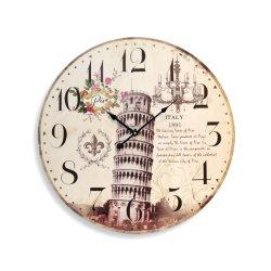 Quartz economici Personalizza Logo promozione Componi regalo bella parete vintage Orologio