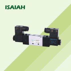 سعر الجملة ثلاثة - وضع خمسة - اتجاه مزدوجة - رأس المفتاح الكهربائي التحكم الملف اللولبي الصمام