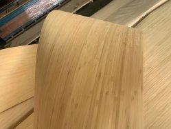 Гибкие вертикальные бамбуковые шпона 0,6 мм