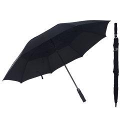 رفاهية سوداء صامد للريح [دووبل لر] [شنس] لعبة غولف مظلة عامة علامة تجاريّة جديد إبتداع منتوج
