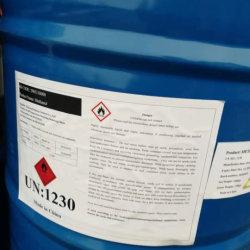 Alcohol metílico disolvente industrial CAS no 67-56-1 Venta en caliente