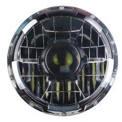 7 POLEGADAS DRL LED Alto Farol Baixo da Luz de trabalho com laser Core para Jeep Wrangler Harley Motociclo fora de estrada, o LED de luz de luz laser