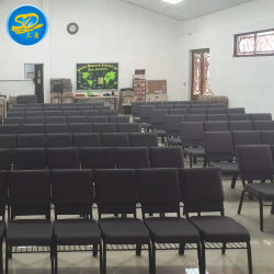 10 anni Project Experience Metal Stacking Theatre Auditorium Chiesa sedia