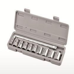 """Set di bussole PER utensili multifunzione a riparazione automatica con bussola DA 1/2"""" 10 PZ"""