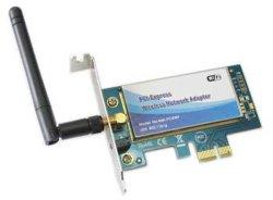 Стандарт IEEE 802.11 B/G беспроводной сетевой адаптер PCI-Express (PCE501)