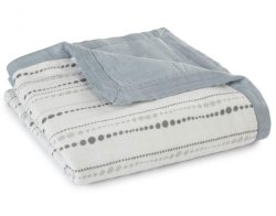 Custom Silky Soft Baby 100% katoen Muslim Toddler Bamboo Blanket