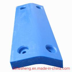 Pastilhas de UHMWPE azul, UHMW-PE pastilhas de para-lama, UHMW-PE as placas do Paralama para-lama marinha