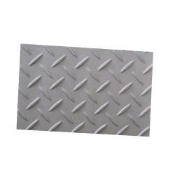 304L 316L Xadrez piso de chapa de aço inoxidável antiderrapantes Folha verificador