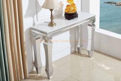 O Hotel Modern Branco Quente mesa lateral da porta de casa de turismo do mobiliário Mesa Console para decoração