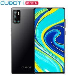 Cubot P40 リアクアッドカメラ 20MP 自撮りスマートフォン NFC 4GB + 128GB 6.2 インチ 4200mAh Android 10 デュアル SIM カード携帯電話 4G LTE