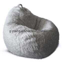 Sofá grandes XXL Colores suaves Furry Faux Fur bean bag