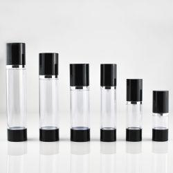 15/30/ 50g comme le plastique transparent Airless bouteille cosmétique (CPP-nouveau-021)