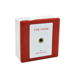 Неадресная пожарная домкрат телефон для системы пожарной сигнализации панели телефона