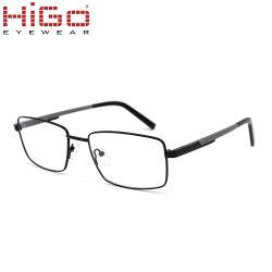 Gafas de metal de alta calidad, las gafas de aluminio con Temple, prueba de la bola de caída de la FDA Gafas Ce
