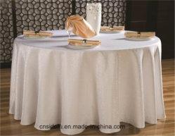 Doek van de Ronde Lijst van het Huwelijk van de Jacquard van de Douane van het Damast van het hotel de Witte