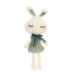 50-70cmの柔らかい詰められた赤ん坊のおもちゃの美しいリボンのプラシ天動物のウサギ