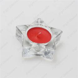 Petite étoile en verre clair Tea Light Bougeoirs