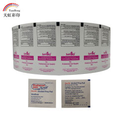 Diseño personalizado de aluminio de 83g/m² papel plastificado