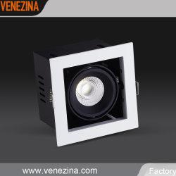 LED de alta potencia cuadrado Spot empotrado de recursos de la luz de abajo-R6212
