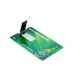 16ГБ C10 основную часть кредитной карты флэш-накопителей USB с логотипом