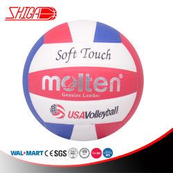PUの柔らかいタッチのバレーボールの球は、屋内5つ及び屋外のトレーニングの球浜のバレーボールを大きさで分類する