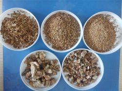 Erweiterter goldener Vermiculit für Gartenbau-Isolierung Fireprof