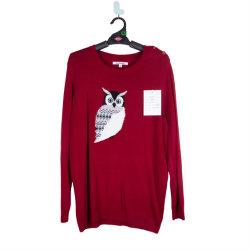 Оптовая торговля V-образный вырез горловины женщин Pullover трикотажные хлопка ослабление свитер для женщин