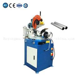 Serra circular de 45 a 90 graus do tubo metálico de Corte do tubo de corte a frio da máquina de corte