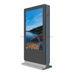 E-Fluence Outdoor 43 pouces LCD lisible au soleil la signalisation numérique