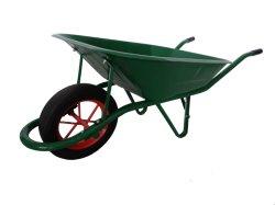 바퀴 무덤 외바퀴 손수레 공구 손수레 Wb6400 모형 65L