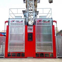 Elevador de pasajeros alquiler Sc200 de la construcción de la máquina exterior ascensor ascensor