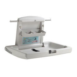 Kuaierte Fabrik-faltbarer Baby-Bett-große Kapazitäts-Isolierungs-Krankenpflege-Tisch