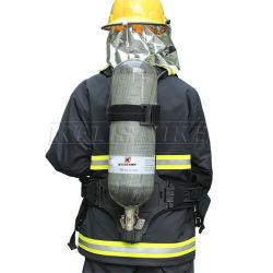 火のレスキューによって使用されるセリウムの証明書のはめ込み式空気呼吸装置Scba