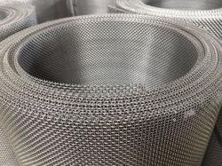 Ponto de tafetá malha de aço inoxidável para Tela de vidro de segurança