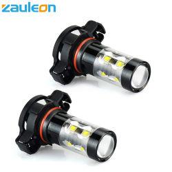 Ampoule de rechange de voiture haute puissance 50W H16 5202 5201 PS19W à LED Lampes de feu de brouillard pour feux de brouillard ou DRL