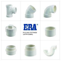 Era Piping Systems 플라스틱/PVC 배출/Dwv 파이프 피팅 90 Deg Elbow ASTM D2665 표준(NSF-PW 및 CUPC 인증 포함)
