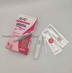 Дома с помощью цифрового беременности HCG HCG Midstream раннего детского беременности тест