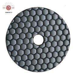100mm Diamond Marbre Tampon à polir à sec