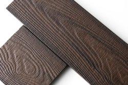 Madeira ou plástico de bambu Material compósito e 25mm de espessura para não escorregar WPC pisos laminados