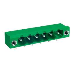 PA66 Pitch plástico 5.08mm PCB do Conector do Fio eléctrico para os blocos de terminais